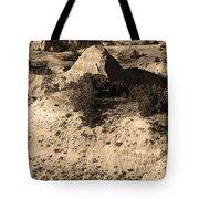 Badlands Sepia Tote Bag