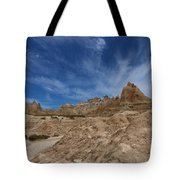 Badlands View From A Trail Tote Bag