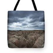 Badlands White River Valley  Tote Bag