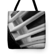 Badminton Shuttlecock Abstract Monochrome Tote Bag