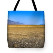 Badwater Basin In Death Valley Tote Bag