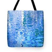 Baffling Blue Water Tote Bag