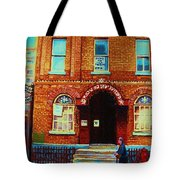 Bagg Street Synagogue Tote Bag