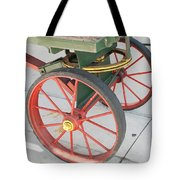 Baggage Cart Tote Bag