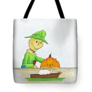 Baggs And Boo Canned Pumpkin Tote Bag