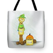 Baggs And Boo Treat Or Trick Tote Bag