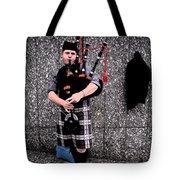 Bagpipe Tote Bag