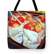 Bags Of Apples Tote Bag
