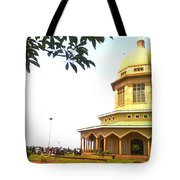 Baha'i Temple Of Uganda Tote Bag