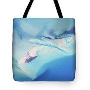 Bahama Banks Aerial Seascape Tote Bag