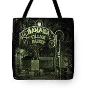 Bahama Village Market Key West Florida Tote Bag
