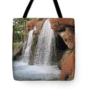 Bahama Waterfall Tote Bag