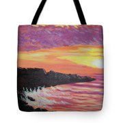 Bahia At Sunset Tote Bag