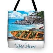 Baie Rouge Poster Tote Bag