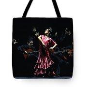 Bailarina Orgullosa Del Flamenco Tote Bag