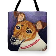 Bailey Terrier Mix Tote Bag