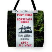 Bailiwick Ranch 5 Tote Bag
