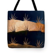 Baja Landscape Number 1 Square Tote Bag by Carol Leigh