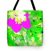 Baja Littleaf Rose Tote Bag
