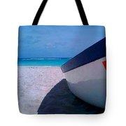 Bajan Boat Tote Bag