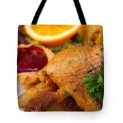 Baked Duck Tote Bag