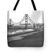 Baker Beach In Sf Tote Bag