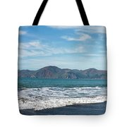 Baker Beach Panorama Tote Bag