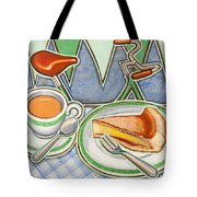 Bakewell Pudding And Cup Of Tea At Eroica Britannia  Tote Bag