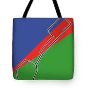 Baku Race Track Tote Bag