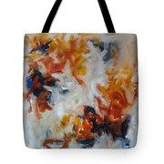 Balance And Harmony Abstract Painting Tote Bag