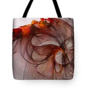 Balance Of Power Abstract Art Tote Bag