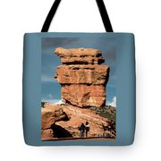 Balanced Rock At Garden Of The Gods Tote Bag