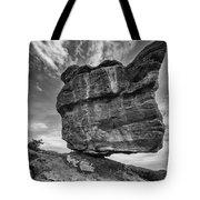 Balanced Rock Monochrome Tote Bag
