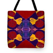 Balancing Affections Abstract Bliss Art By Omashte Tote Bag