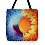 Balancing Sun And Moon Energies Tote Bag