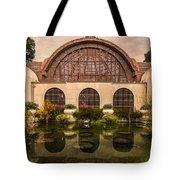 Balboa Park Botanical Building Symmetry Tote Bag