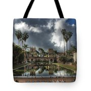 Balboa Park Fountain Tote Bag
