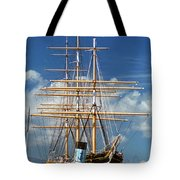Balclutha Mast And Rigging Tote Bag