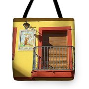 Spanish Balcony Tote Bag