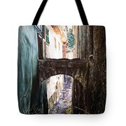 Balcony On The Arch Tote Bag