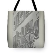 Balcony Railings Tote Bag