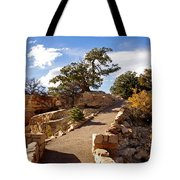 Balcony To The North Rim Tote Bag
