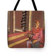 Balcony Usher Tote Bag