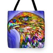 Bald Eagle Face Tote Bag