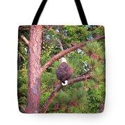 Bald Eagle Fresh Catch Tote Bag