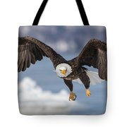 Bald Eagle Magic Tote Bag