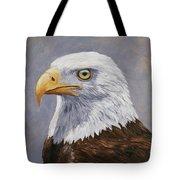 Bald Eagle Portrait Tote Bag by Crista Forest