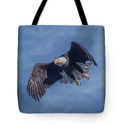 Bald Eagle Ready For A Treat Of Interest Tote Bag