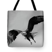 Bald Eagle Symbol Of Strength Tote Bag