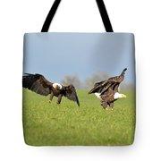 Bald Eagles Tote Bag
